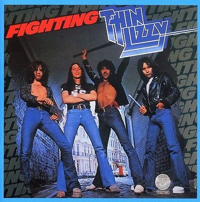 Thin Lizzy   Fighting  New Cd  Uk   Import
