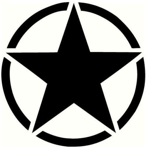 Black Star Stickers Ebay
