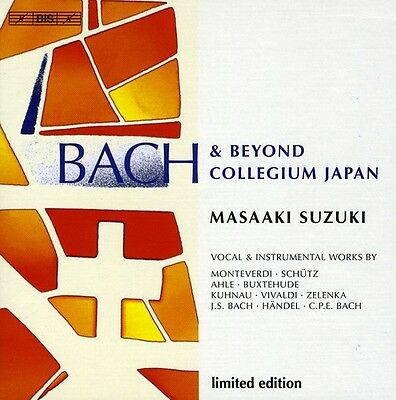 Masaaki Suzuki  Bach Collegium Japan   Bach   Beyond  New Cd