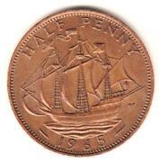 1965 Half Penny