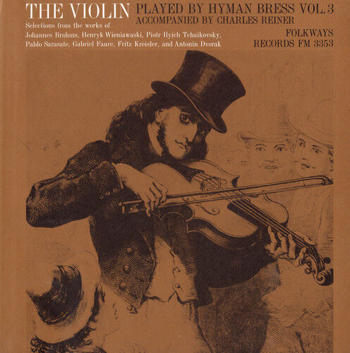 Hyman Bress - The Violin: Vol. 3 [new Cd]