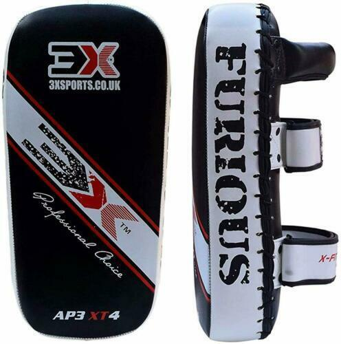 3X SPORTS Kick pads Boxing Strikes Curved Arm Pads MMA Training Muay Thai Pads
