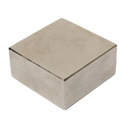 Big Super Strong Neodymium Rare Earth Fridge Magnet 45x45x20mm 1.8x0.8 N52