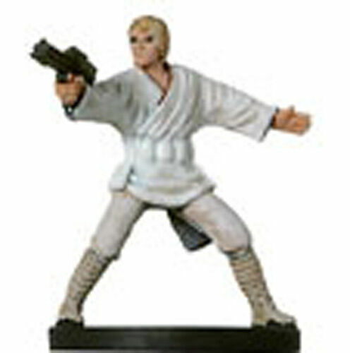 Star Wars -  LUKE SKYWALKER REBEL  #10  (Rebel Storm - RARE FIGURE with CARD!!)