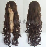 Brown Curly Cosplay Wig