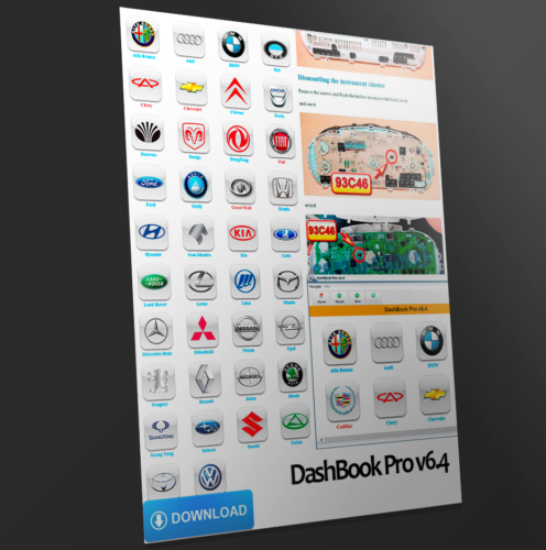 DashBook PRO v6.4 Dashboard Calibration Manual Utily 2015 EU SELLER