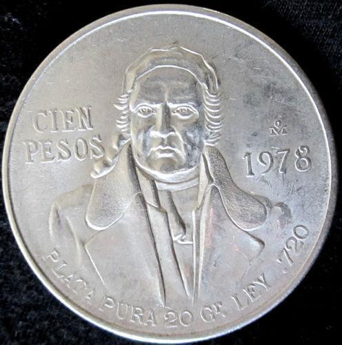 100 Peso Coin Ebay