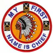 Navy Chief Patch