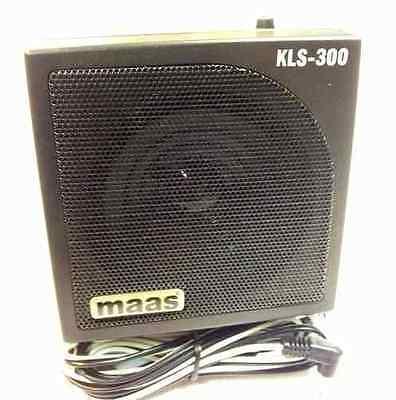 CB FUNK LAUTSPRECHER KLS 300 Profi 15 Watt mit Geräuschfiter & Kopfhöreranschluß