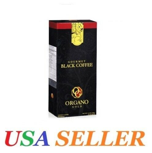 1 Box ORGANO GOLD GOURMET BLACK COFFEE - EXP.06/2021
