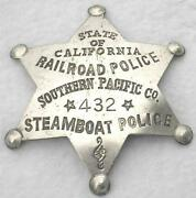 Railroad Badge