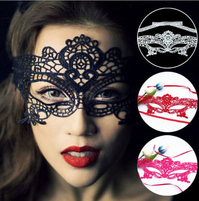 STUNNING VENETIAN MASQUERADE EYE - MASK HALLOWEEN PARTY LACE FANCY DRESS - - Venetian Halloween Masks Uk