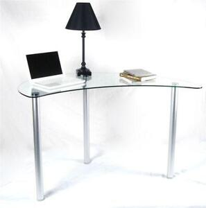 Glass Desk | eBay