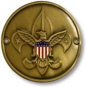 Boy Scout Hiking Medallion