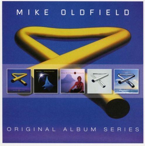 MIKE OLDFIELD 5CD NEW Tubular Bells II/Songs Of Distant Earth/Voyager/III/2003