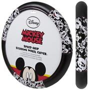 Mickey Mouse Steering Wheel Cover