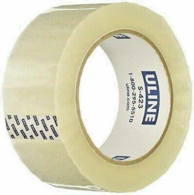 U-line S-423 Industrial Tape 2 Mil 2 X 110 Yds Clear Single Roll