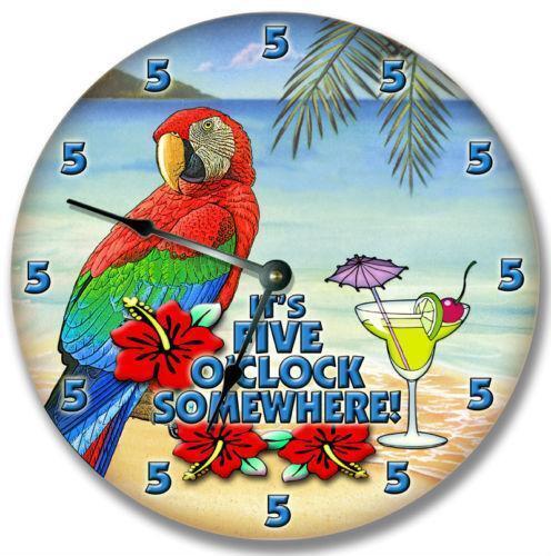 Parrot Clock Ebay