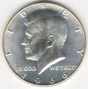 1966 SMS Kennedy Half Dollar