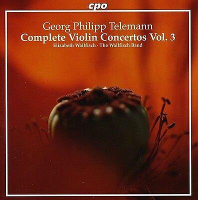 Elizabeth Wallfisch, - Complete Violin Concertos 3 [New CD] Complete Violin Concertos Cd