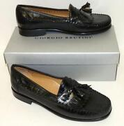 Mens Black Loafers 11