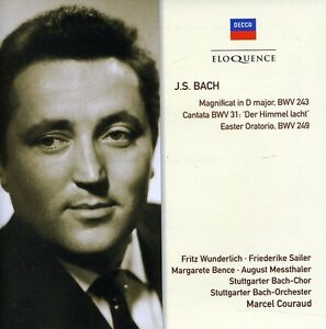 Marcel Couraud, Frit - Bach J.S: Magnificat / Cantata BWV31 / Easter Orat [New C