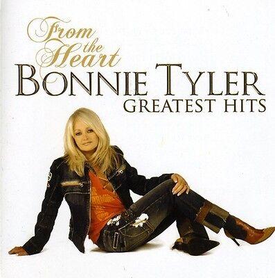 Bonnie Tyler   From The Heart  Greatest Hits  New Cd  Bonus Track