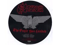 saxon picture disc the eagle has landed