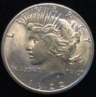 Uncirculated 1922 Year Peace Dollars (1921-1935)