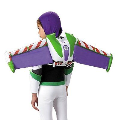 DISNEY TOY STORY BUZZ LIGHTYEAR JET PACK INFLATABLE COSTUME WINGS CHILD KIDS  - Disney Buzz Costume