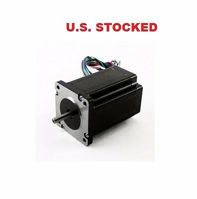 2pcs Nema23 425ozin 2.8a Stepper Motor Dual Shaft
