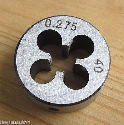 B8 W6.82 Die 0.275 X 40 Tpi For Bergeon Schaublin Watchmakers Lathe