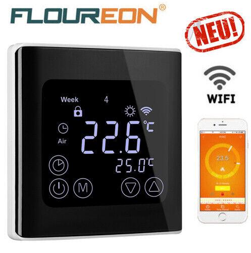 WiFi Heizkörper-Thermostat Digital Smart Programmierbares WLAN Raumthermostat DE
