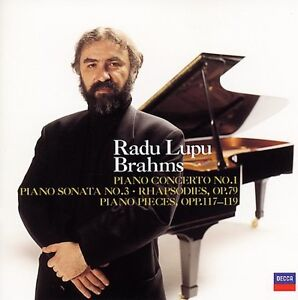 Lupu,Radu - Plays Brahms [CD New]