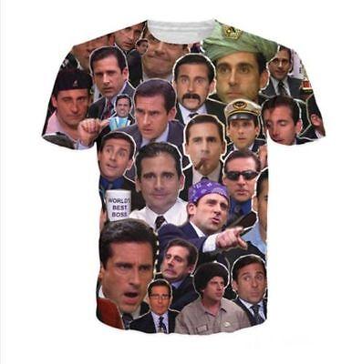 New Women Men Prison Mike Michael Scott Meme 3D Print Casual T Shirt Plus Size