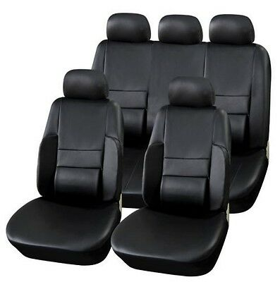 Sitzbezüge schwarz hinten KOS JEEP CHEROKEE