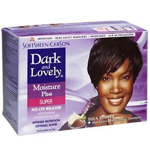 dark and lovely no lye hair relaxer kit super ebay