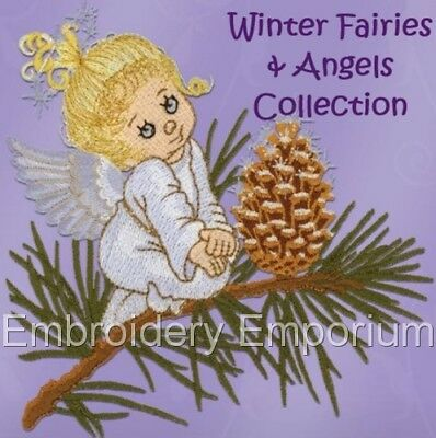 WINTER FAIRIES & ANGELS - MACHINE EMBROIDERY DESIGNS ON - Winter Fairies