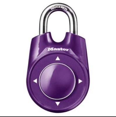 Master Lock Speed Dial Combination Lock Security Padlock 1500id Various Colors
