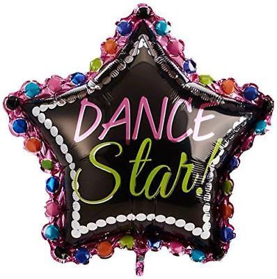 Amscan Dance Star SuperShape Foil Balloon