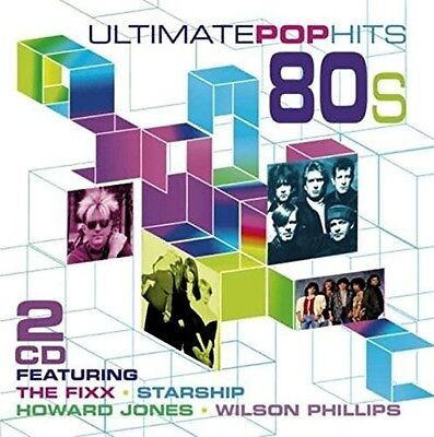 Various Artists - Ultimate Pop Hits of the 80's [New CD]