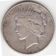 1923 One Dollar Coin