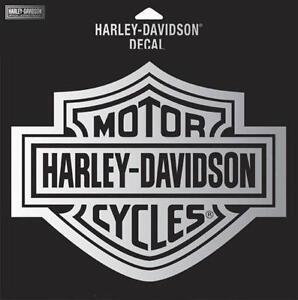 Harley davidson chrome decal