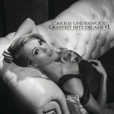 Carrie Underwood   Greatest Hits  Decade  1  New Cd