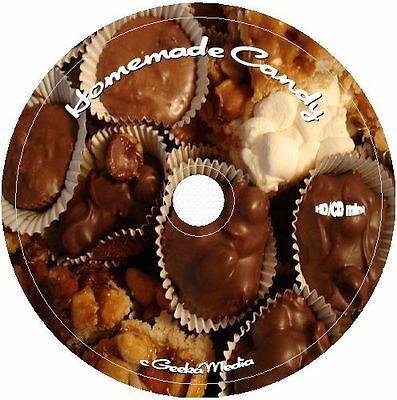 Homemade Candy Recipes 8 Cookbook Cd Vintage Candies Chocolate Recipe Homemade