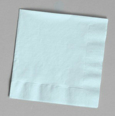 Light Blue Luncheon Napkins (24) - Party Supplies ()