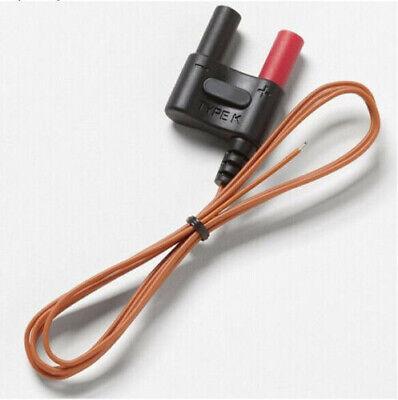 For Fluke 80bk-a Type K Multimeter Thermocouple Temperature Probe Cable
