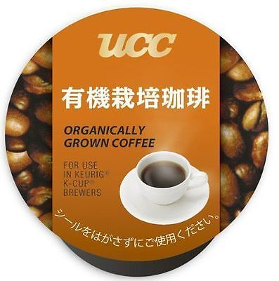 UCC K-CUP Organically Grown Coffee Capsules 8g × 12 Cups from Japan