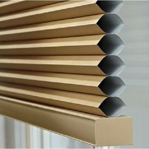 NEW Blackout Cordless Cellular Shade Room-Darkening Honeycomb Shade Window Blind