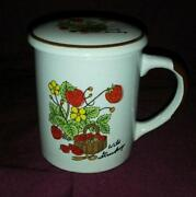 Strawberry Tea Cup